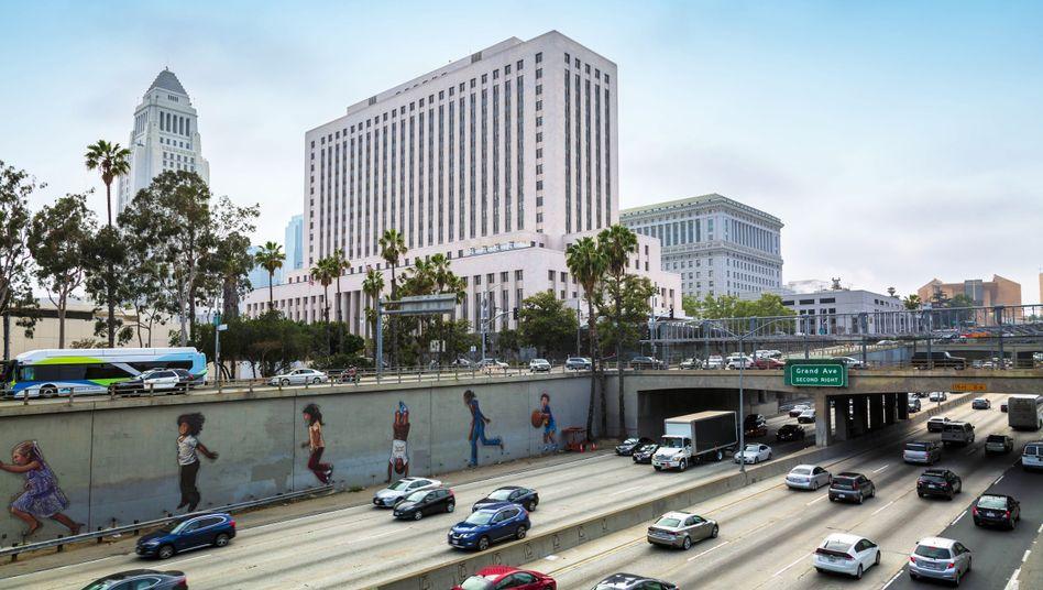 Das Rathaus von Los Angeles