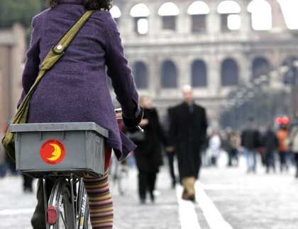 Car-free Sunday in Rome