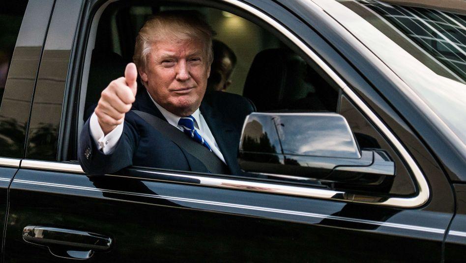 US-Politiker Trump: 10 oder nur 4,5 Milliarden Dollar?