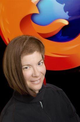 Mozilla-Chefin: Die Anwältin Mitchell Baker leitet die Stiftung und ist Geschäftsführerin der Kommerz-Tochterfirma