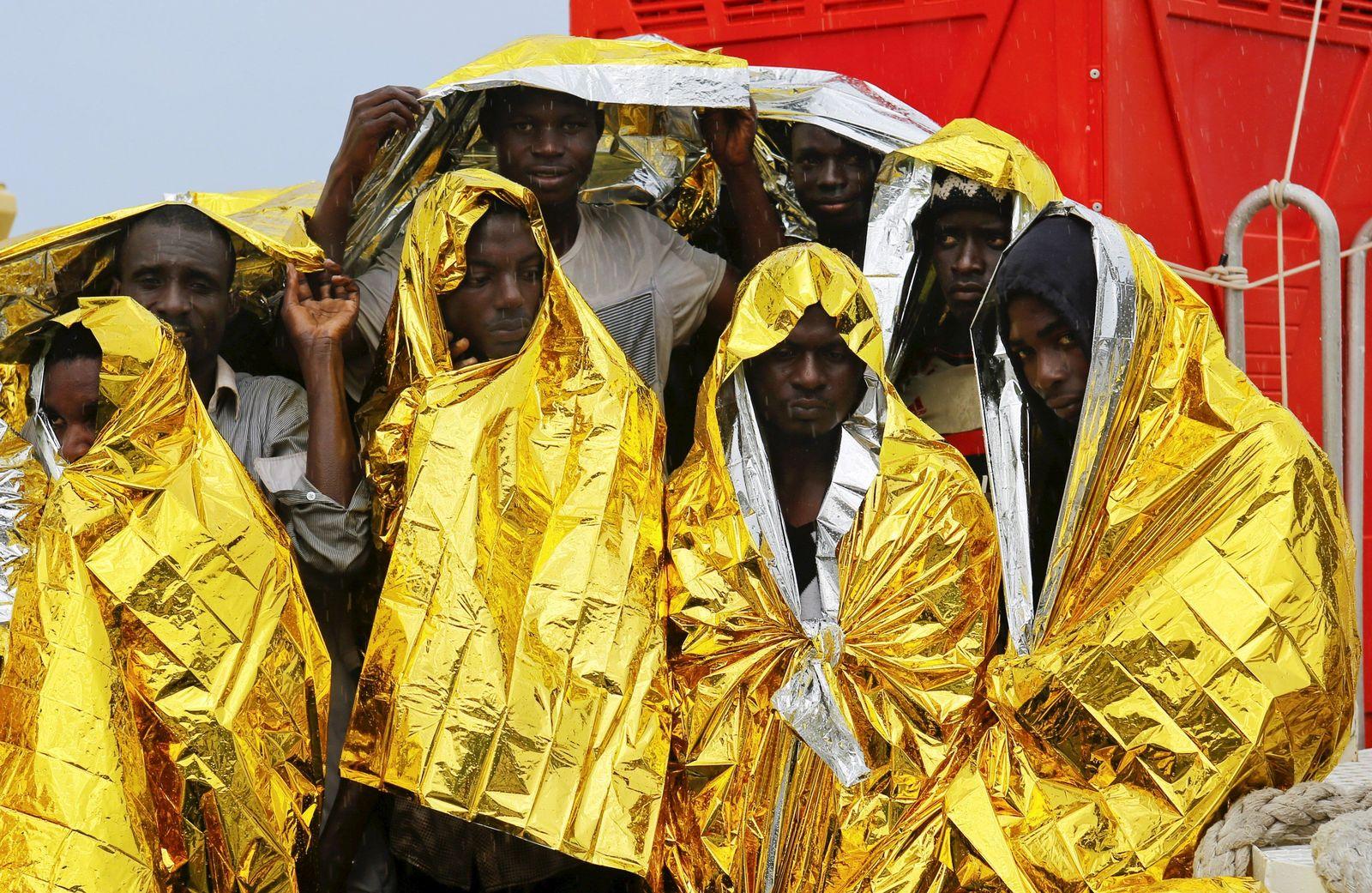 Flüchtlinge/ Afrika