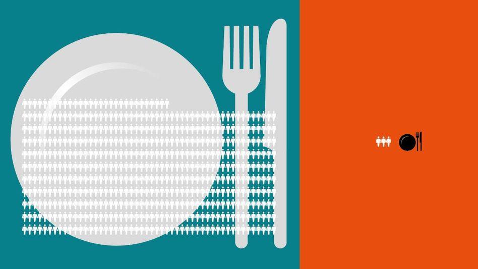 Früher starben 400 von 100.000 Menschen an Hunger - heute noch 3.