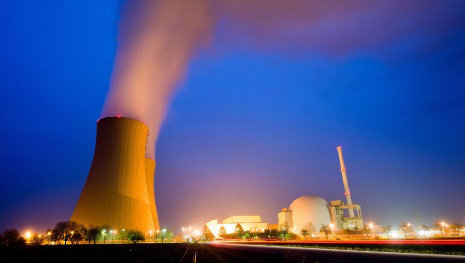 Kernkraftwerk Grohnde in Niedersachsen (2014)