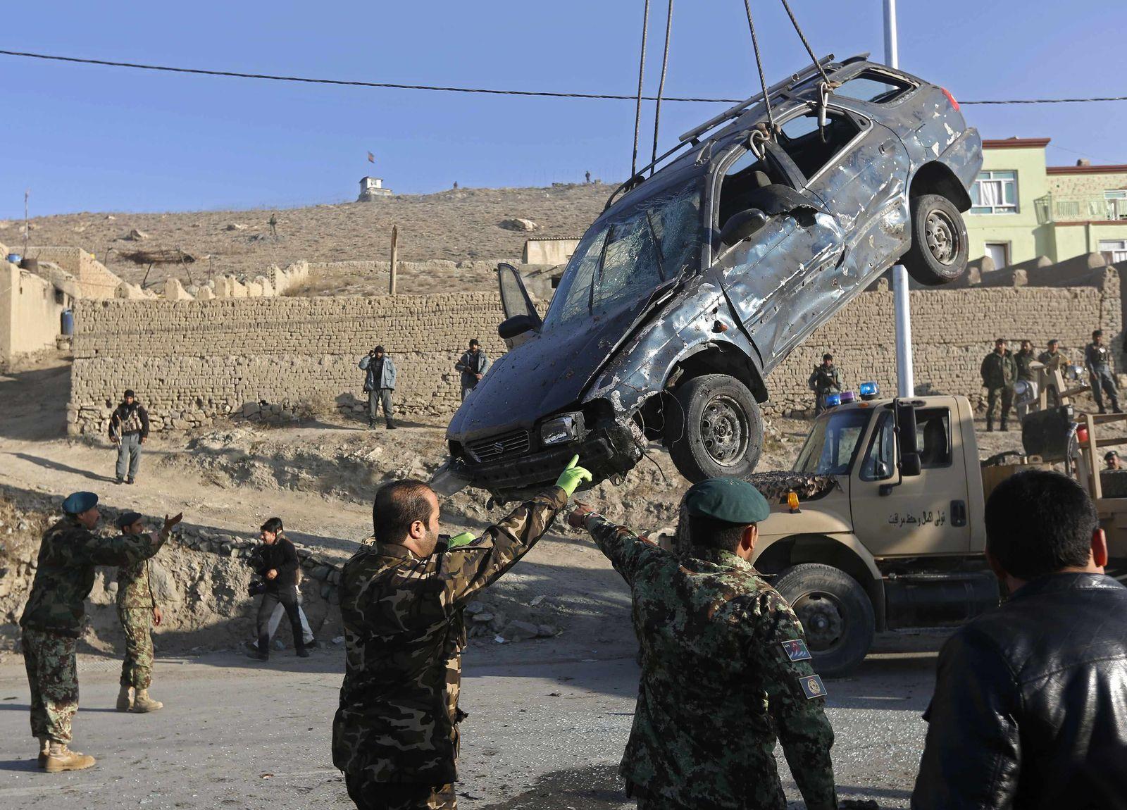 afghanistan auto bombe