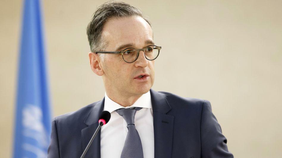 """Außenminister Maas in Genf: """"Wir können jederzeit auf eine veränderte Situation reagieren"""""""