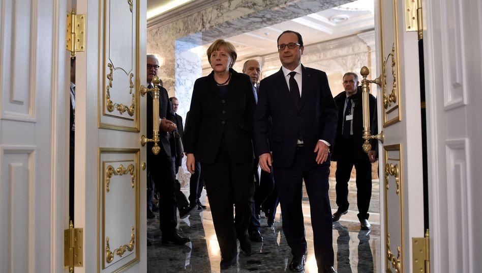 Krisentreffen in Minsk: Gipfel beschließt Waffenruhe in der Ukraine