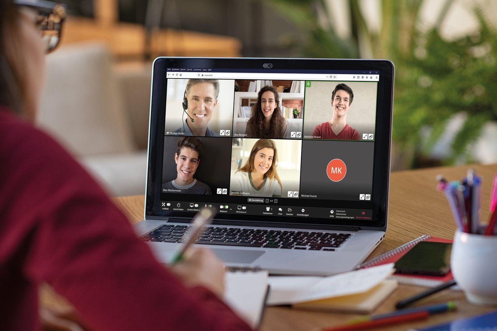Videokonferenz-Software Visavid