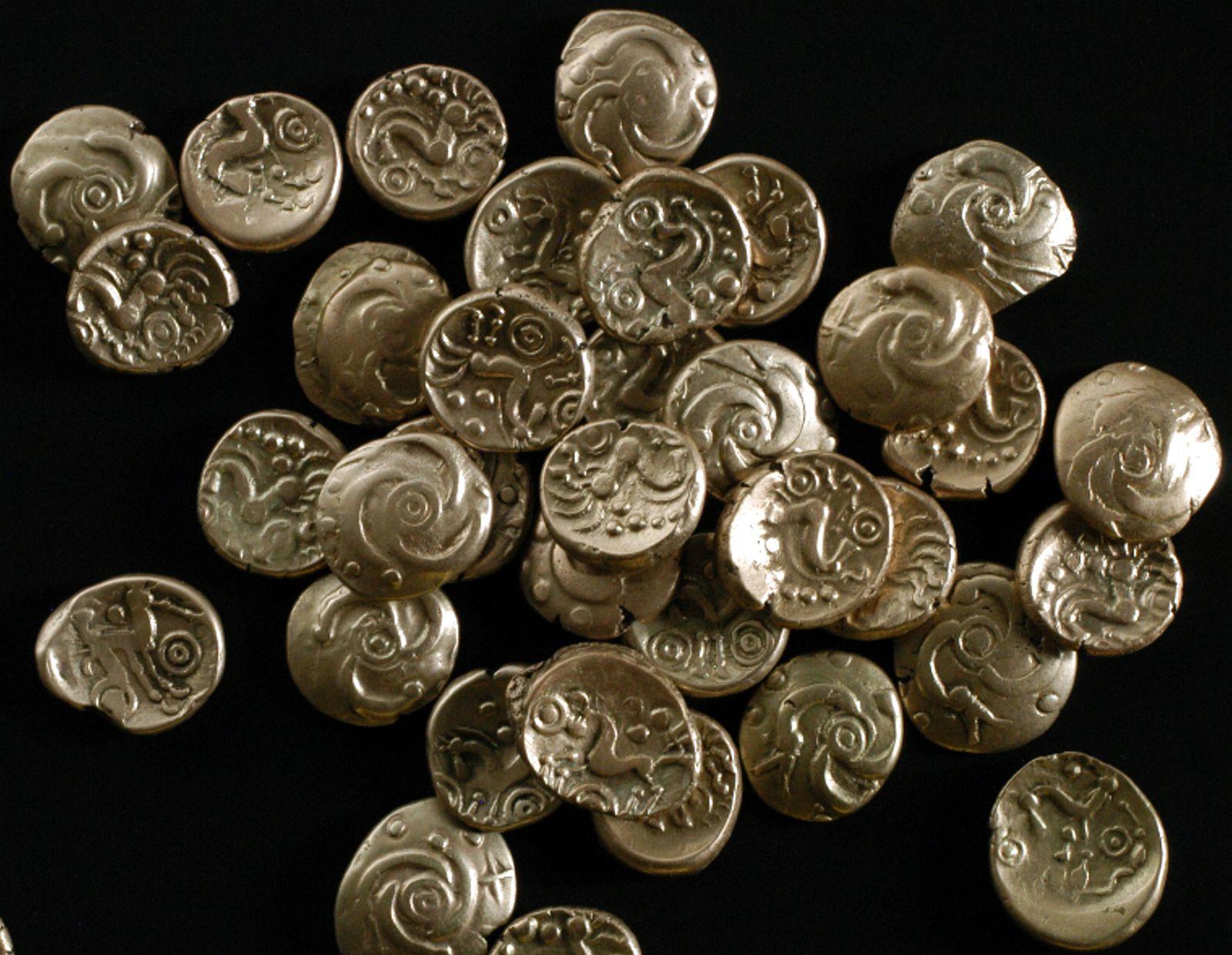 Keltischer Münzschatz auf Acker in Maastricht gefunden