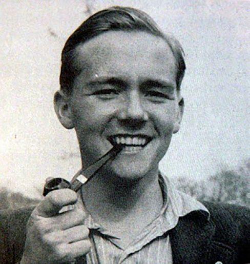 Knud Christensen mit 19 Jahren