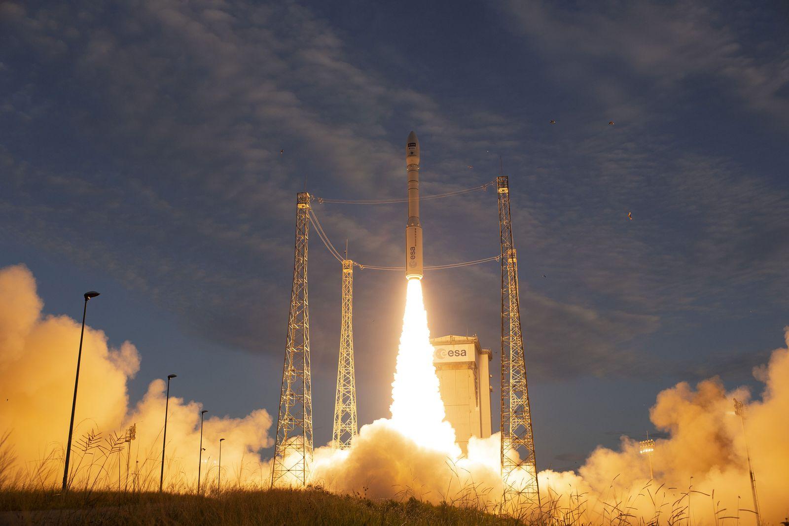 ESA-Erdbeobachtungssatellit «Aeolus» ins All gestartet