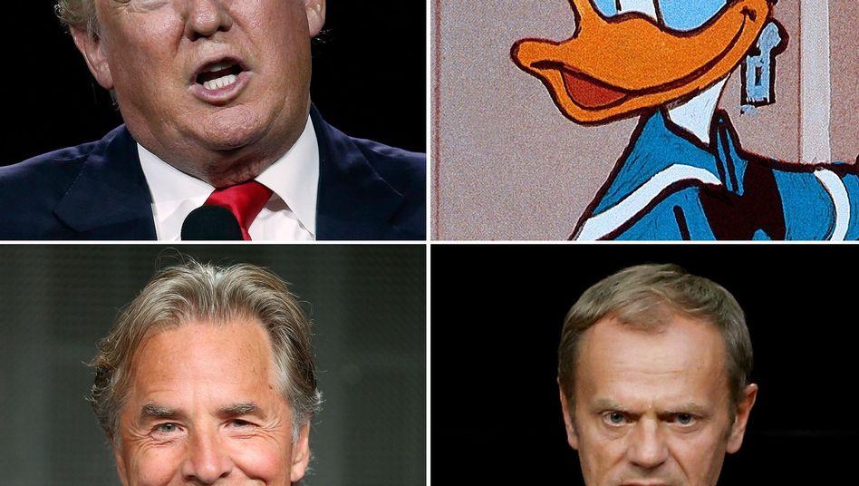 Zwei berühmte Donalds