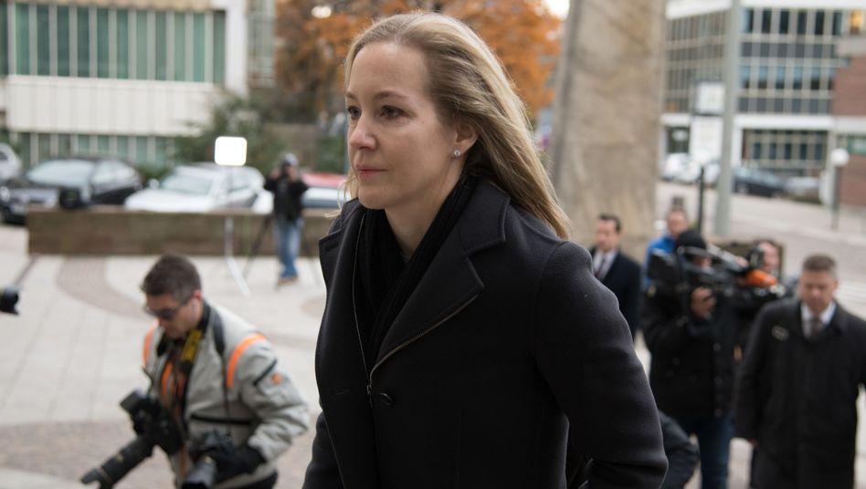Wo Meike Schlecker (Archivbild) ihre Strafe absitzt, ist nicht bekannt