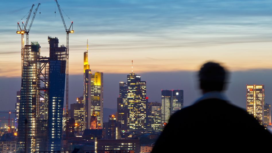 Bankenviertel in Frankfurt am Main: Niedrige Kredithürde