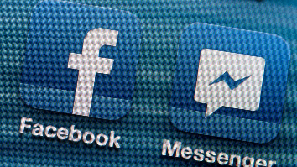 Facebook-Apps auf einem Smartphone