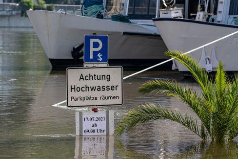 Die Donau in Passau: »Nur ein normales Hochwasser«