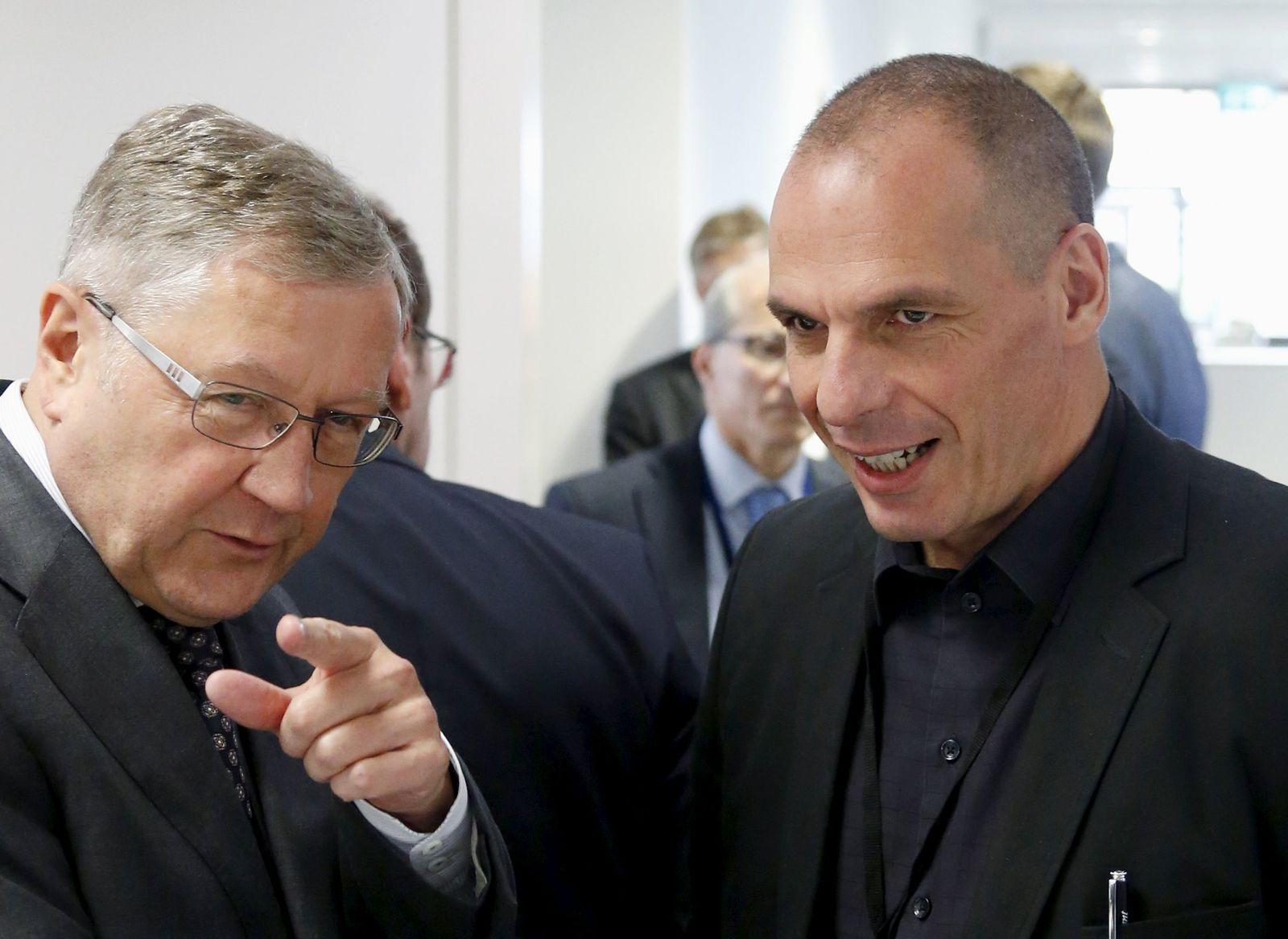Yanis Varoufakis/ Klaus Regling