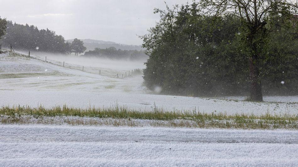 Sturm, Kälte, Hagel: In Mittelfranken zog ein Unwetter durch – ohne größere Schäden anzurichten (Archivfoto)