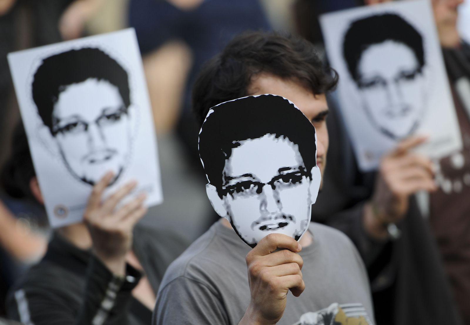 Unterstützung für Snowden