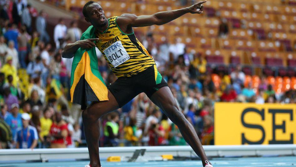 Sprinter Bolt: 19,66 Sekunden für 200 Meter