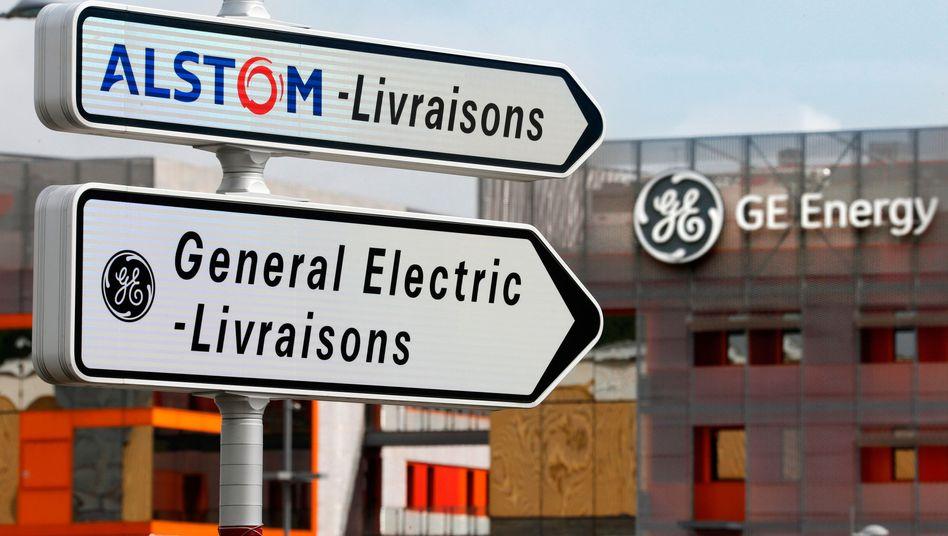Alstom-General-Electric-Standort im französischen Belfort (Archiv)