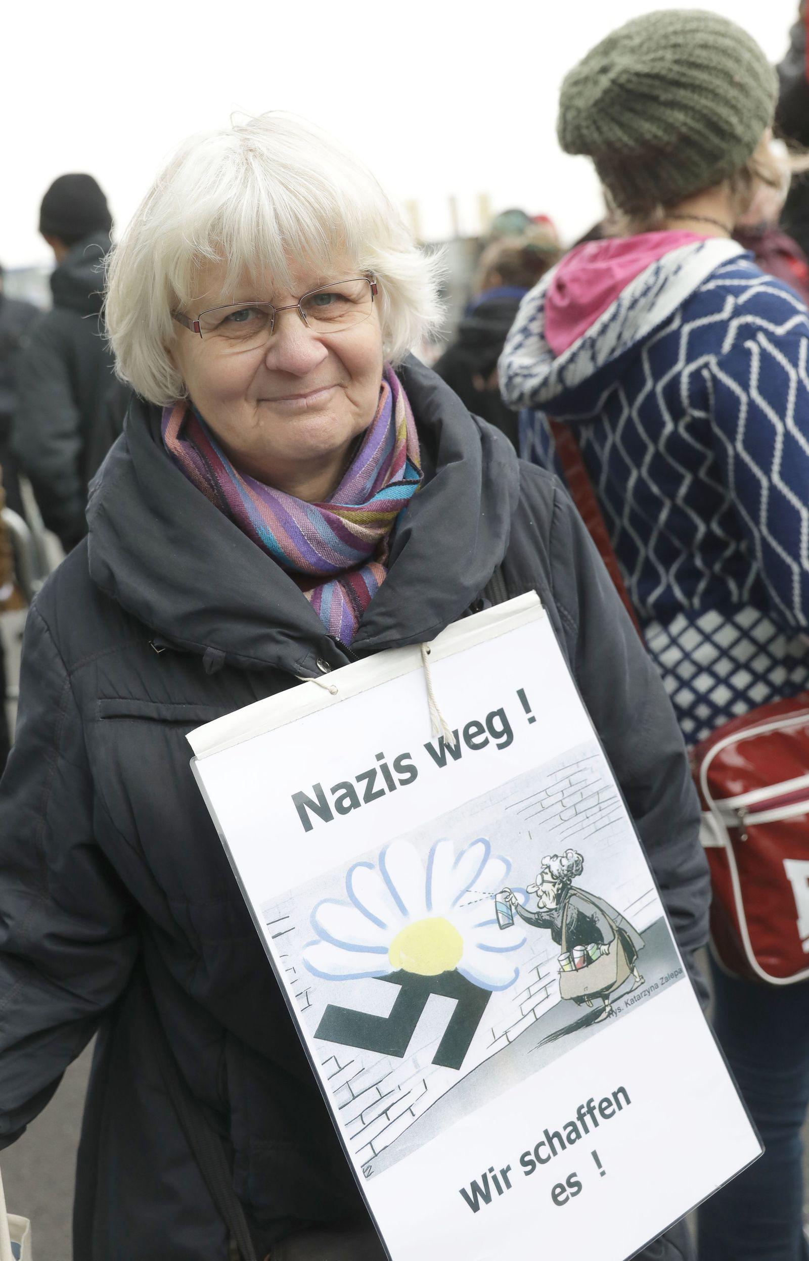 Gegenkundgebung zum «Wir für Deutschland»-Aufmarsch