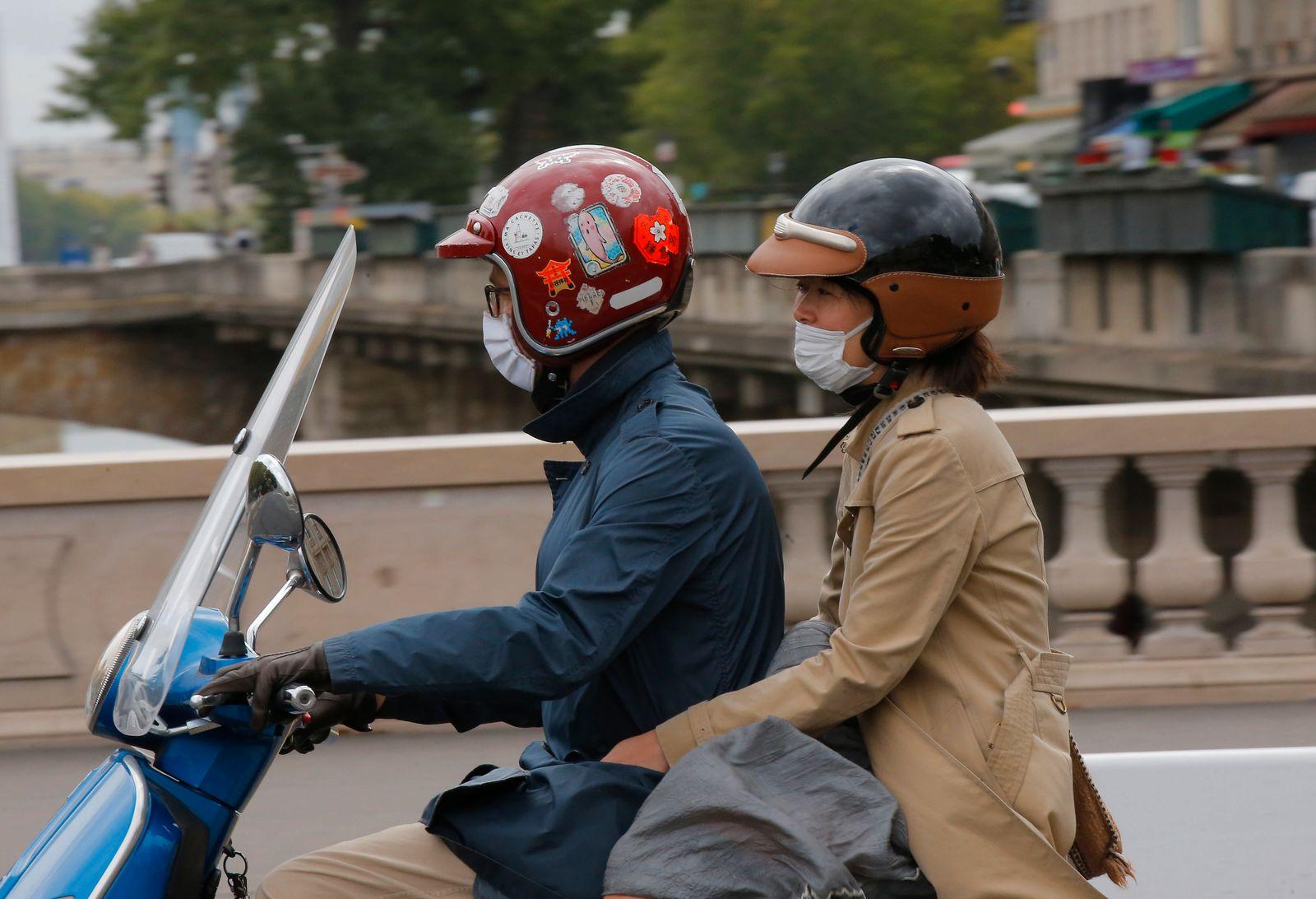 Coronavirus - Maskenpflicht in Paris