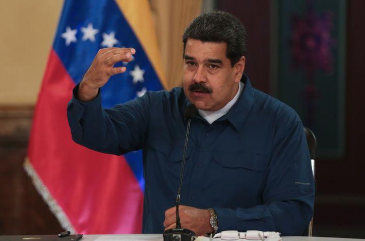 Nicolás Maduro (Archivfoto)