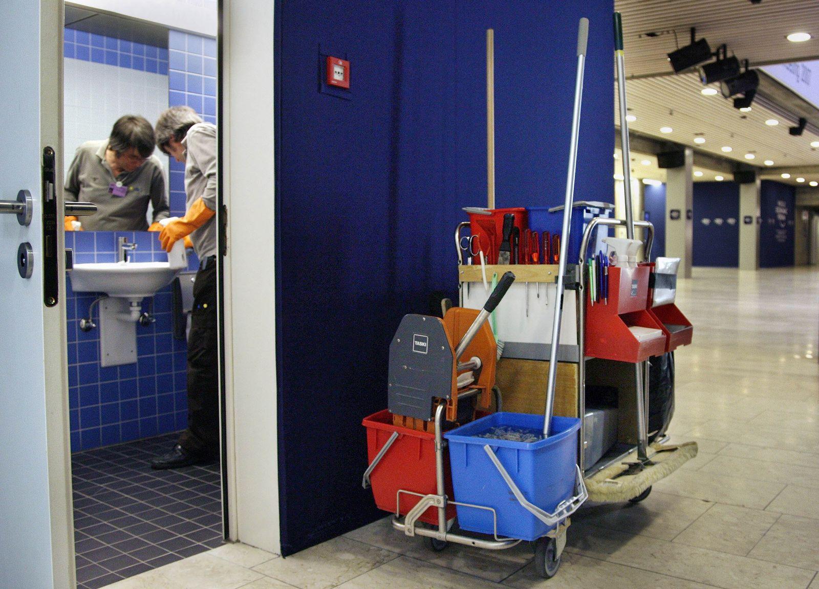 Reinigungskraft Putzen Job