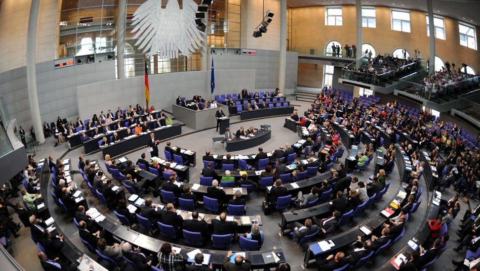 Plenarsaal des Bundestags: Bald Schauplatz einer Lan-Party