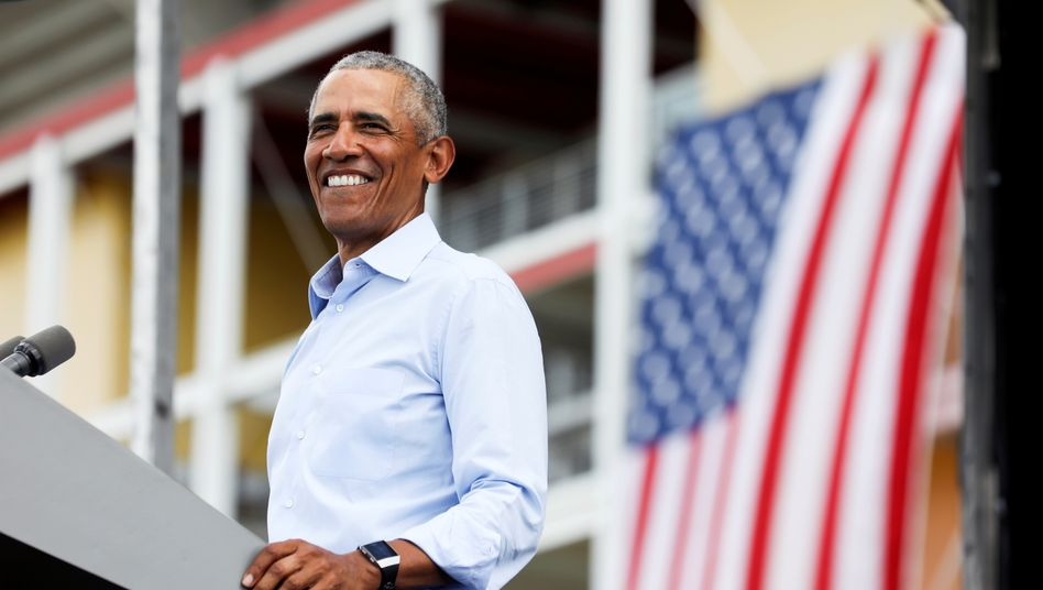 Barack Obama in Florida: Als wäre er nie weg gewesen