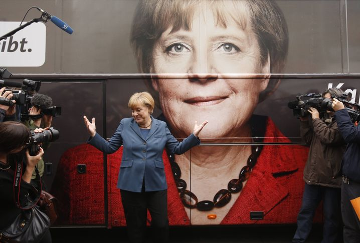 Angela Merkel wirbt für beide Stimmen