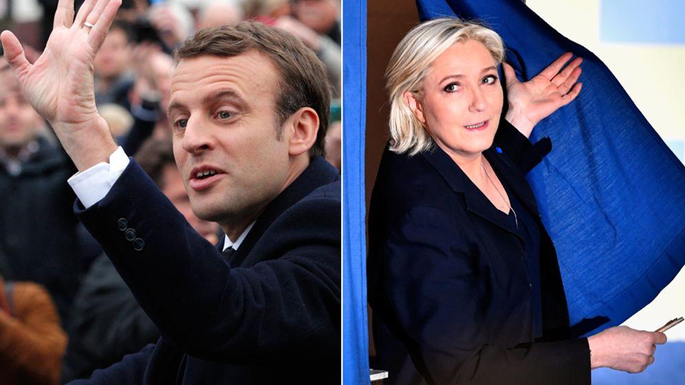 Frankreichwahl: Die gegensätzlichen Sieger