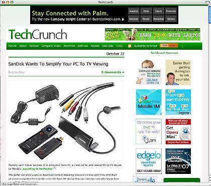 """US-Blog """"TechCrunch"""": Acht Angestellte und ein CEO"""
