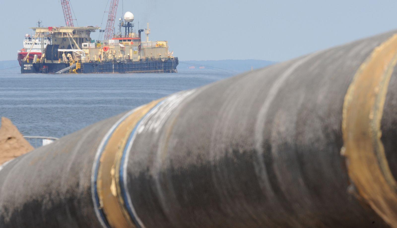Ostseepipeline Nord Stream Lubmin