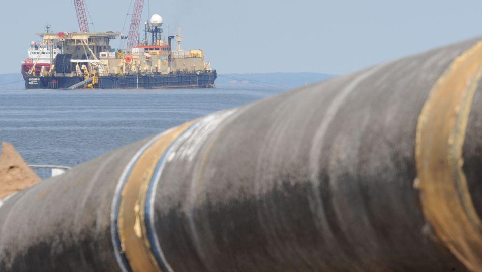 Ostsee-Pipeline (Archiv) : Protest gegen geplante Erweiterung