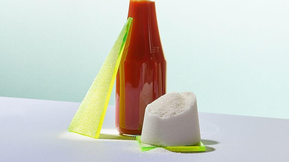Süßspeise Ketchup: Mit einem Zuckergehalt von etwa 23 Prozent übertüncht die rote Soße jeden Geschmack