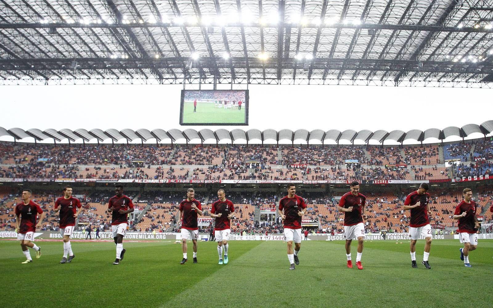 EINMALIGE VERWENDUNG AC Milan