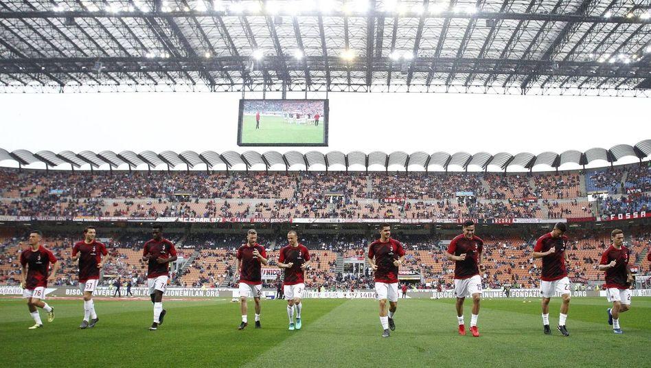 Spieler der AC Milan