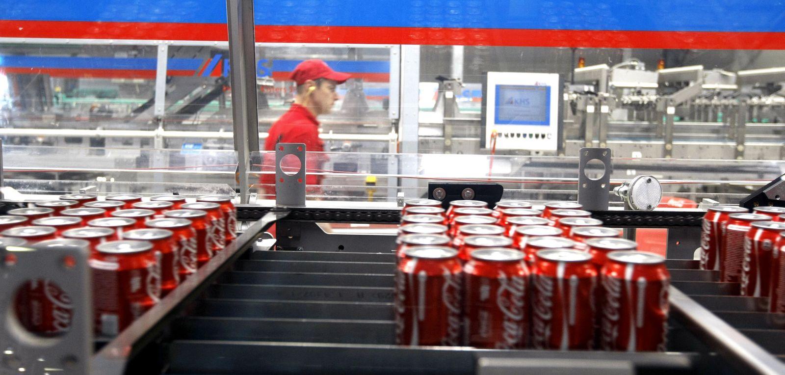 NICHT MEHR VERWENDEN! - oca Cola Hellenic / Russland