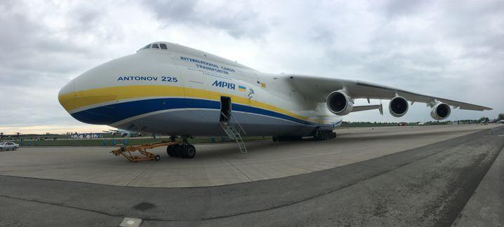 Die An 225 auf der Luft- und Raumfahrtmesse ILA in Berlin (2018)