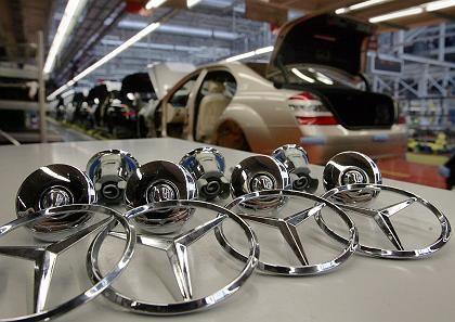 Mercedes-Produktion: Belastung durch starken Euro