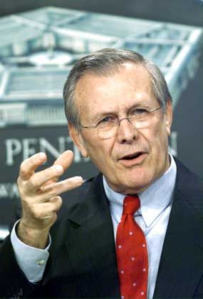 Rumsfeld: Rückschlag für Pentagon-Propaganda