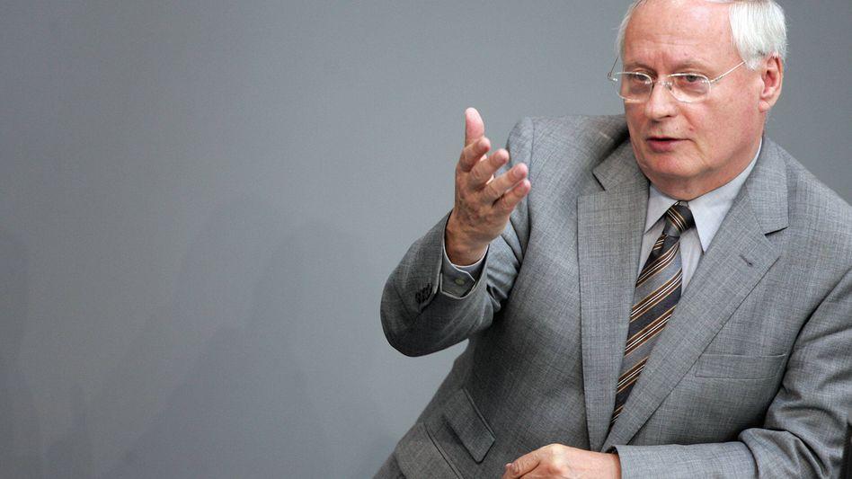"""Linke-Parteichef Oskar Lafontaine: """"Es handelt sich um eine Krebserkrankung"""""""