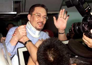 Ehemaliger Vize-Premier Anwar Ibrahim