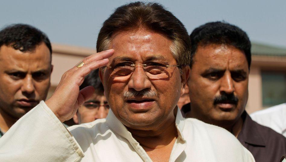 Zum Tode verurteilt: Pervez Musharraf