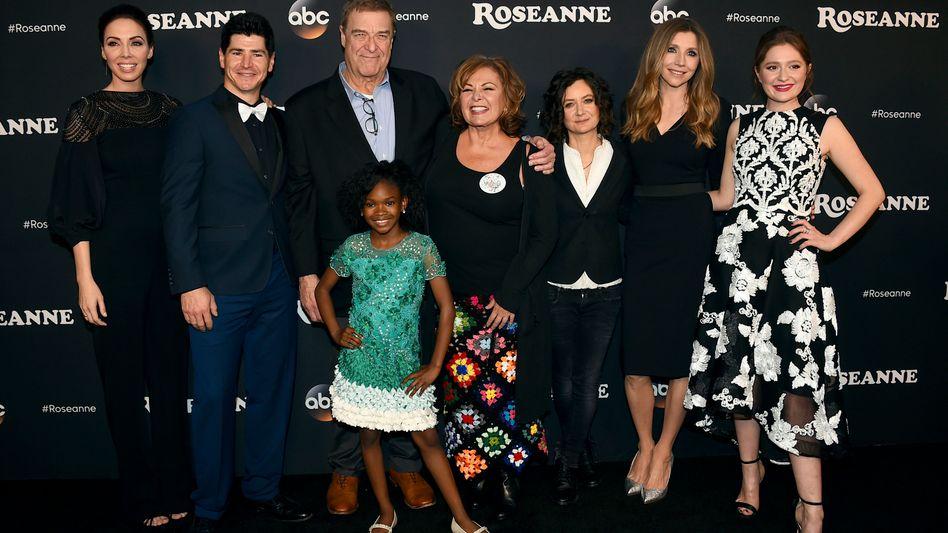 """""""Roseanne""""-Darsteller (März 2018)"""