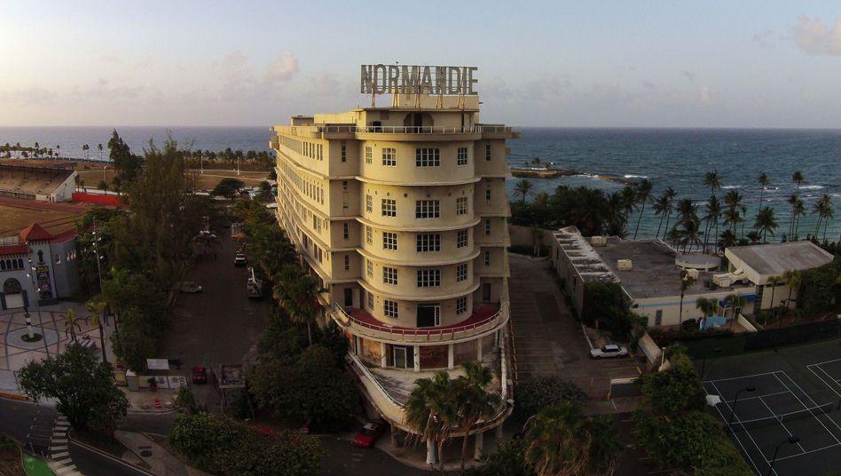 Leerstehendes Hotel in Puerto Rico: Die Wirtschaft schrumpft seit sieben Jahren