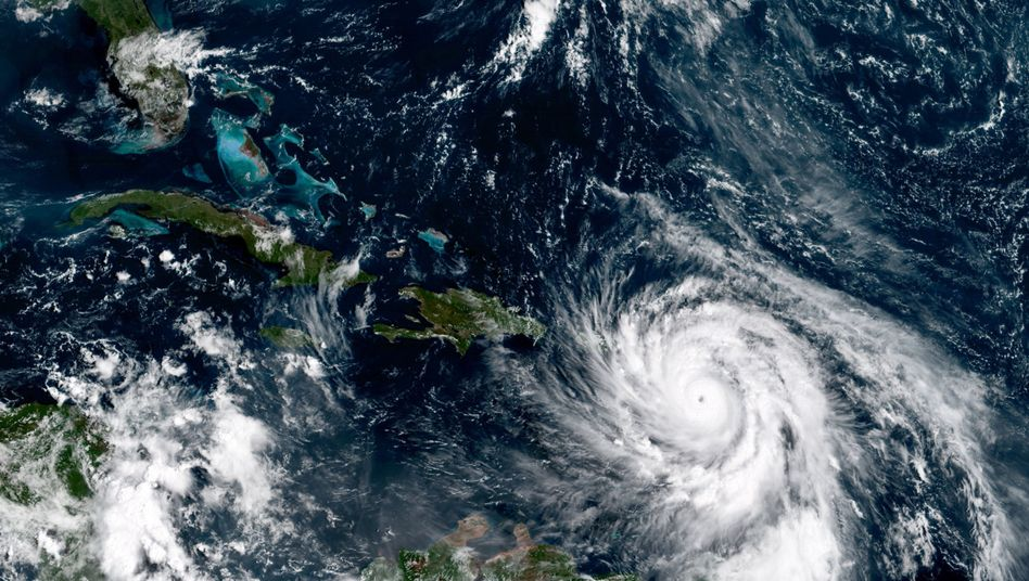 "Hurrikan ""Maria"" im September vor Puerto Rico"