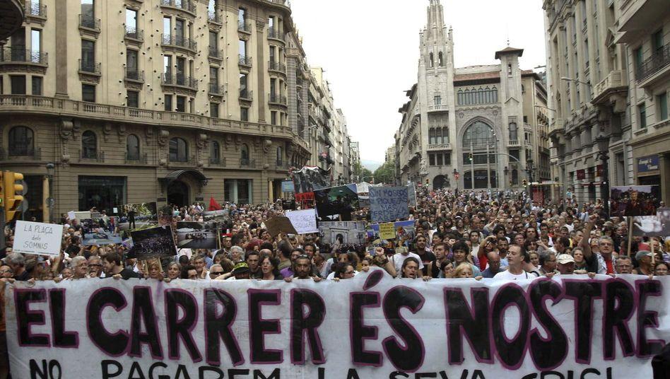 "Proteste in Spanien: ""Die Finanzkrise bedroht die junge Generation"""