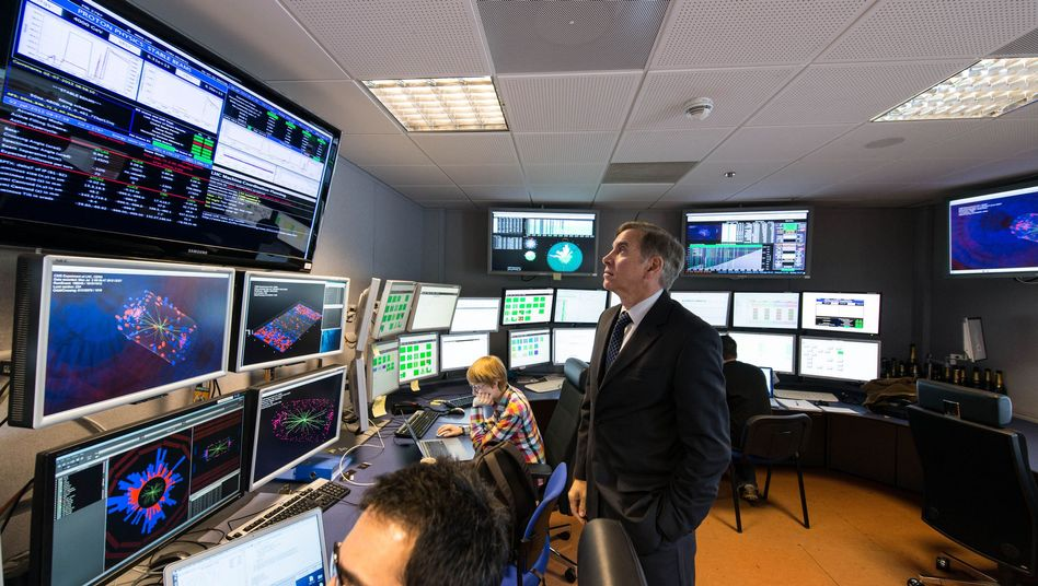 Cern: Panne mit dem Video